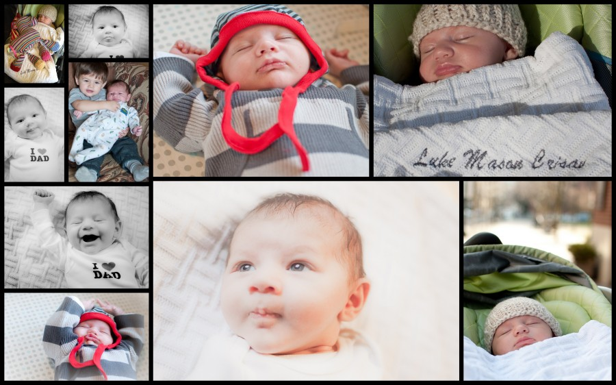 Month 2 Collage