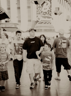 I could really empathize with the young man in this shot... many sights on Fremont St. had me gaping.